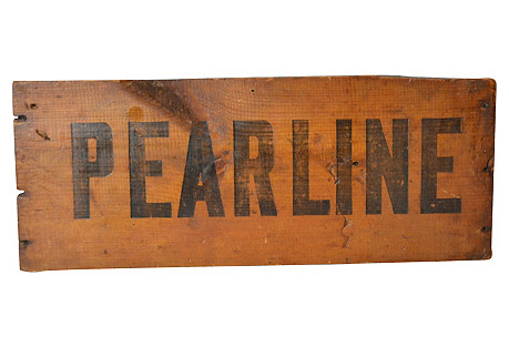Pearline Sign