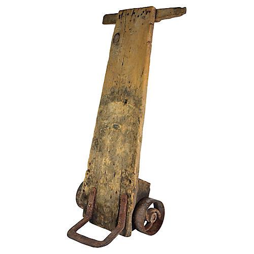 European Rustic Hand Cart