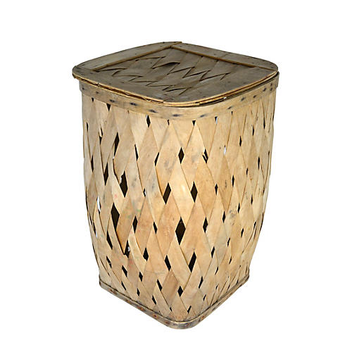 European Wood Basket
