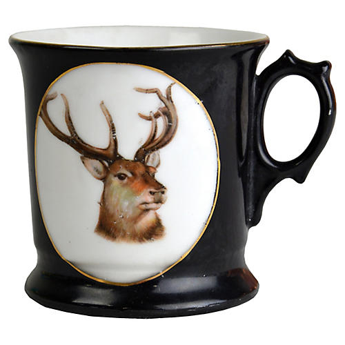 German Stag Shaving Mug