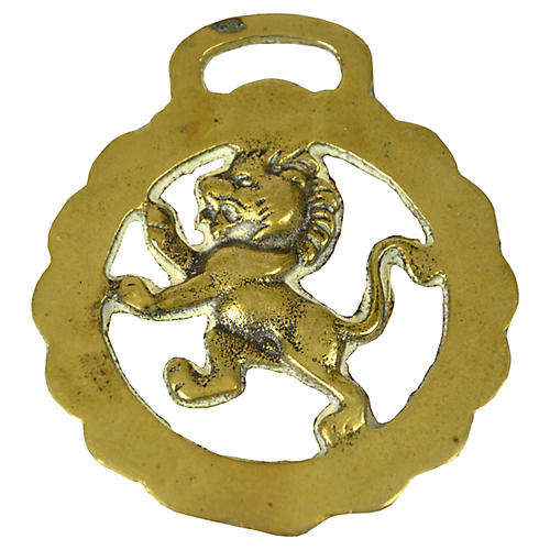 English Lion Ornament