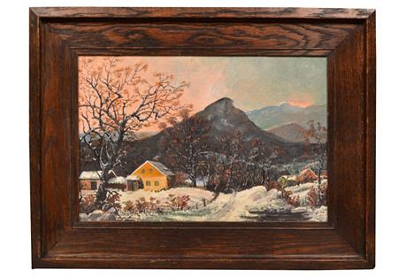 Connecitcut Winter Landscape