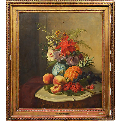 19th-C. Fruit Still Life