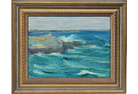 Gentle Waves by Susan Ketcham
