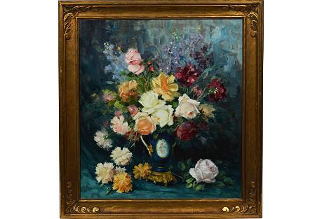 Flower Still Life by Giuseppe Cocco