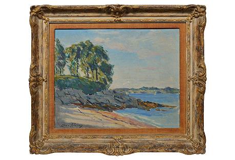 Coastal Landscape by Ben Solowey