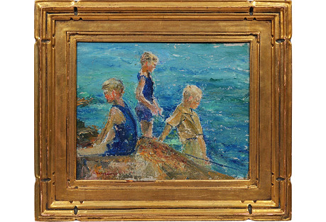 Boys by the Sea by H. Vance Swope