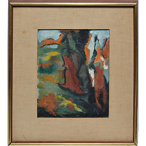 Abstract Landscape, C. 1950