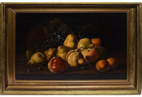 Old Master European Fruit Still Life