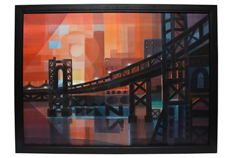 Modernist View of Manhattan