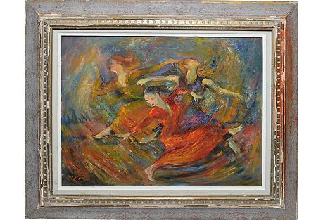 Modernist Dancer Portrait