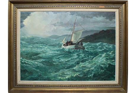 Wild Seas by Richard Schlect