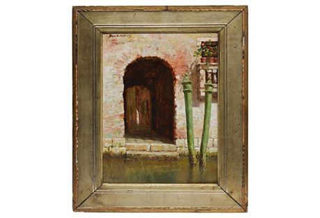 Doorway in Venice by Burr Nicholls