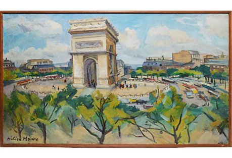 Arc De Triumph, Paris by Helene Marre