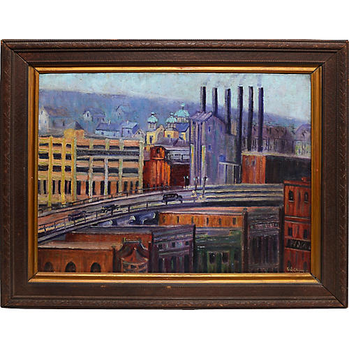 View of Pittsburgh by Kate Hogue