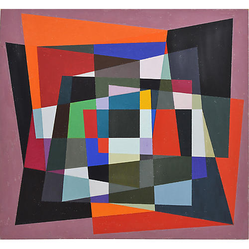 Hard Edge Modernist Abstraction