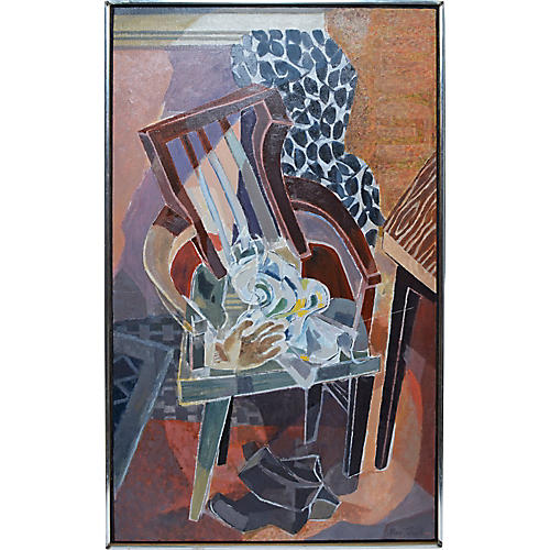 Modernist Chair Still Life