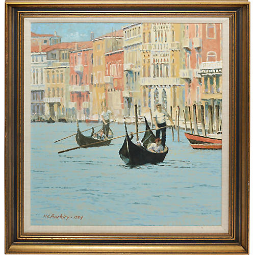 View of Venice by Harry Buckley