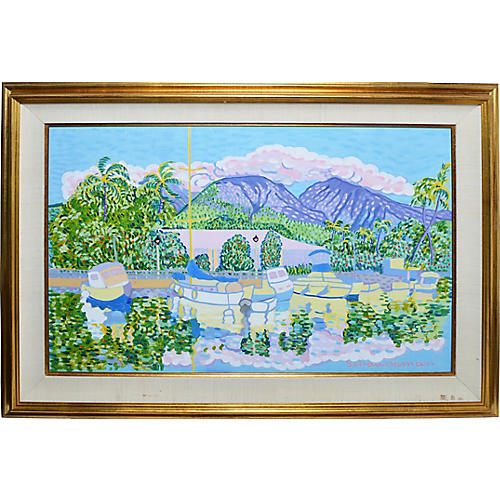 Fauvist View of Hawaii