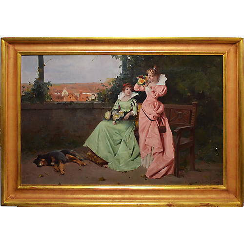 19th-C. Figural Painting