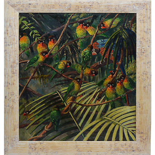 Tropical Birds by Elizabeth Fulda