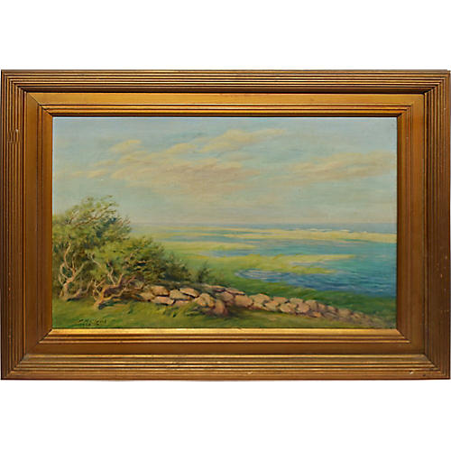 Panoramic Landscape by Frederick Clark