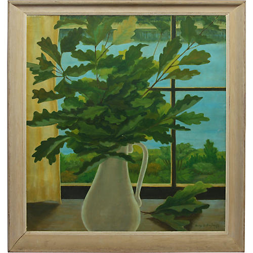 Modernist Trompe L'oeil Still Life