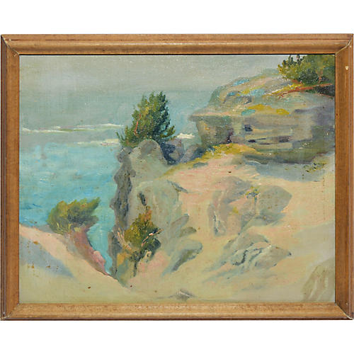 American Impressionist Seascape