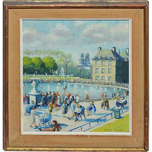 Impressionist Paris Park View