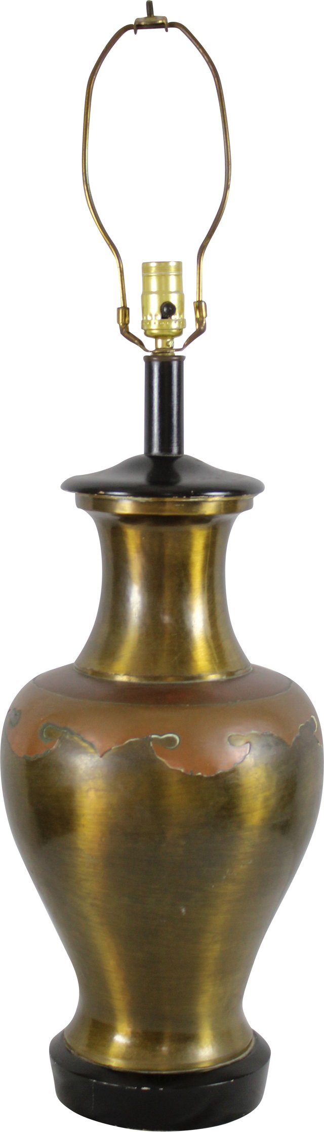 Brass & Copper Lamp