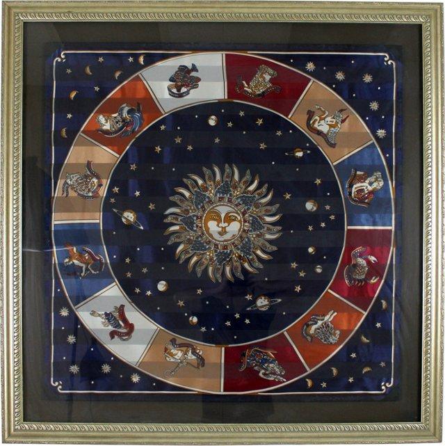 Gianni Versace Zodiac Scarf