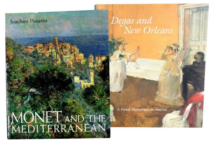 Degas & Monet, Pair
