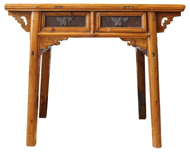 Asian-Style Entry Table