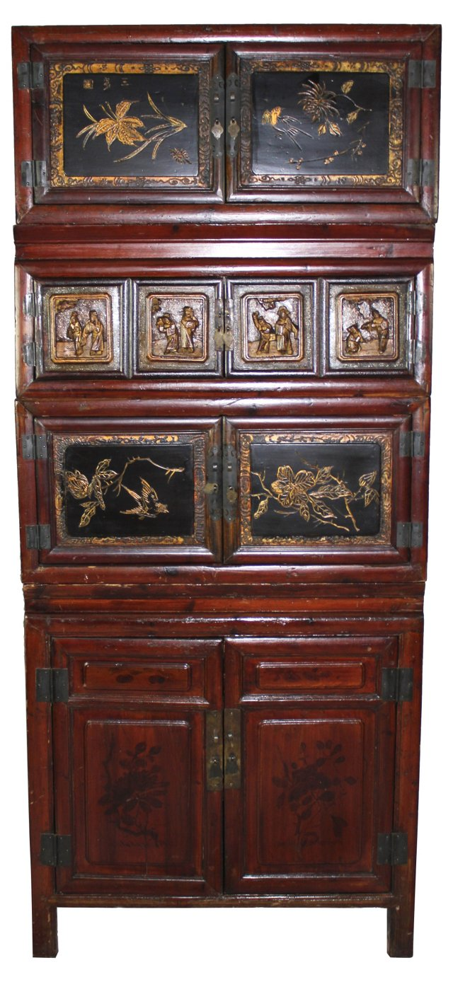 Stacking Asian Cabinet