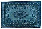 "Turkish Overdyed Rug, 7'3"" x 11'11"""