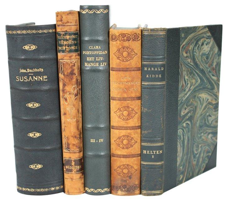 Leather   Books, S/5