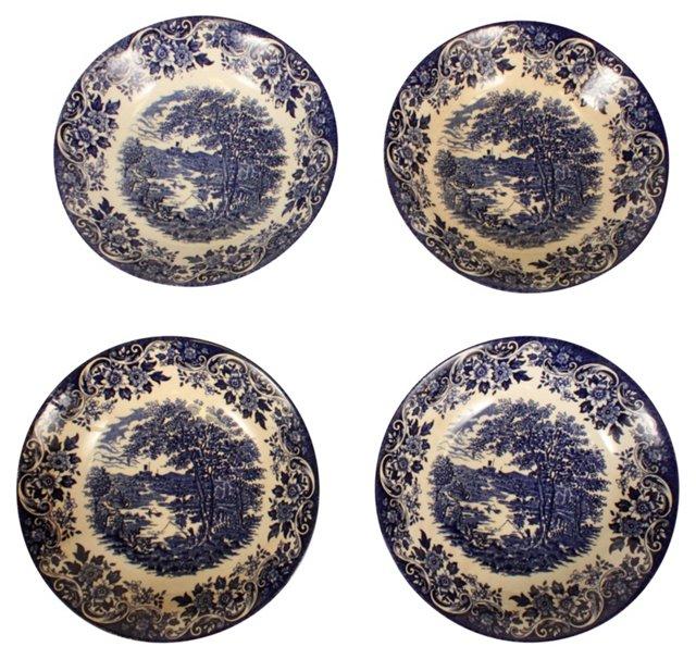 English Ironstone Bowls, S/4
