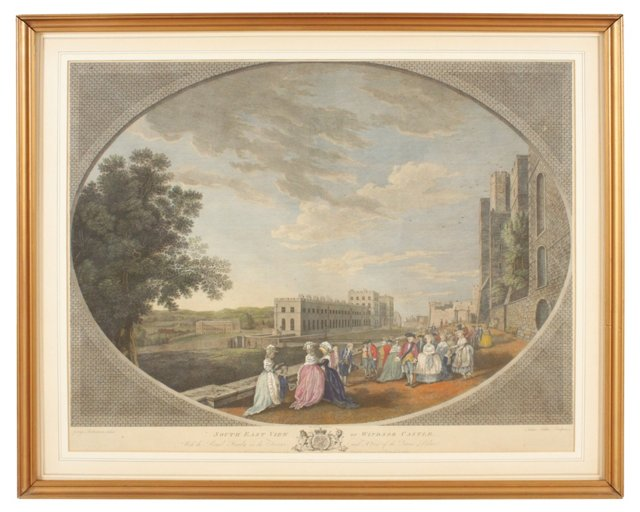 Southeast View of Windsor Castle, 1783