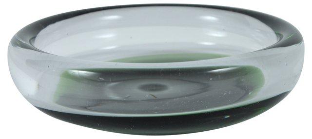 Mid-Century Modern Art Glass Dish