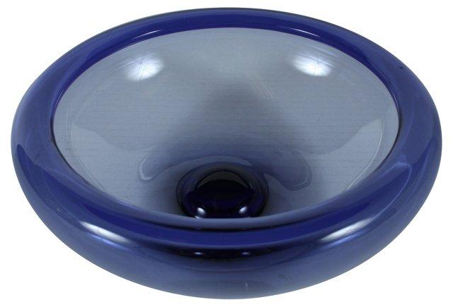 Blue Holmegaard Province Bowl