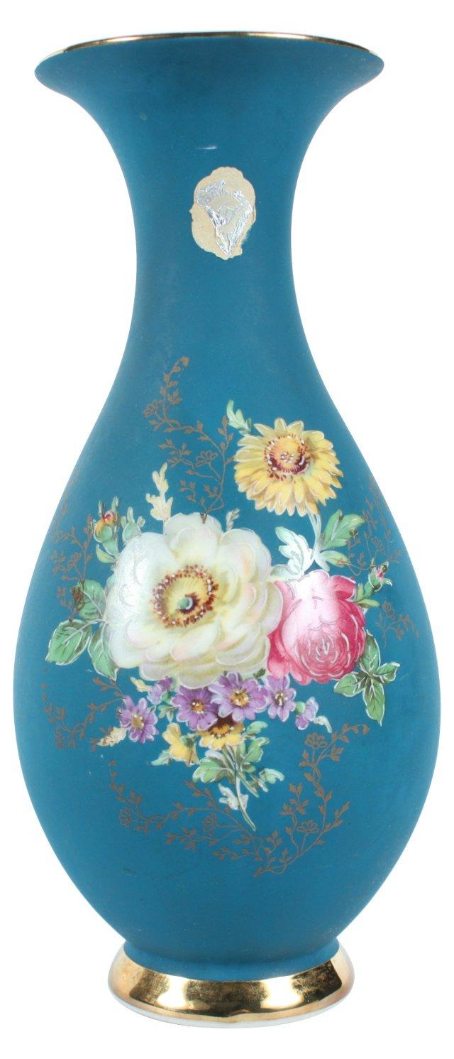 Waldershof Balvaria Hand-Painted Vase