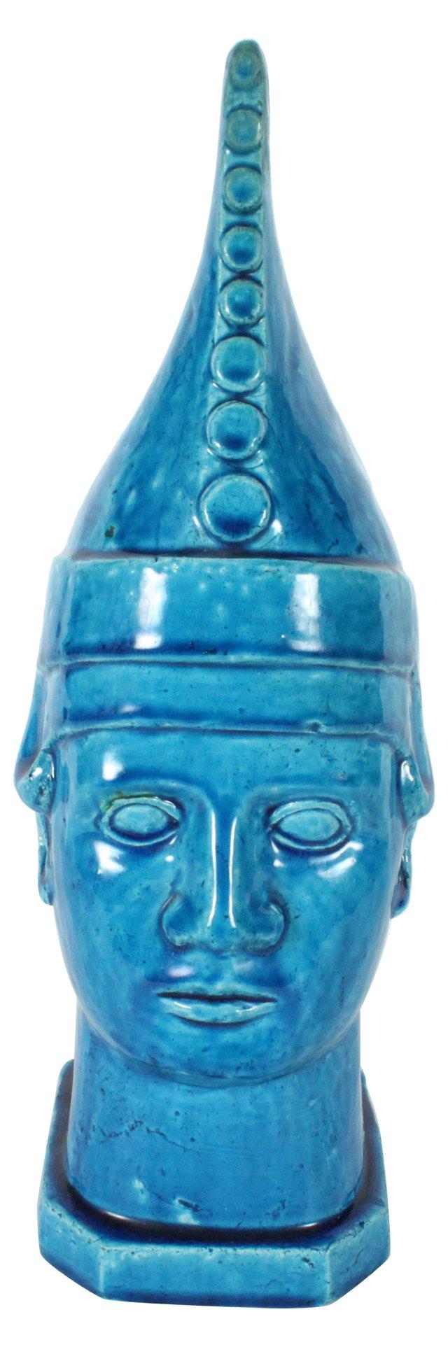 Asian Buddha Head