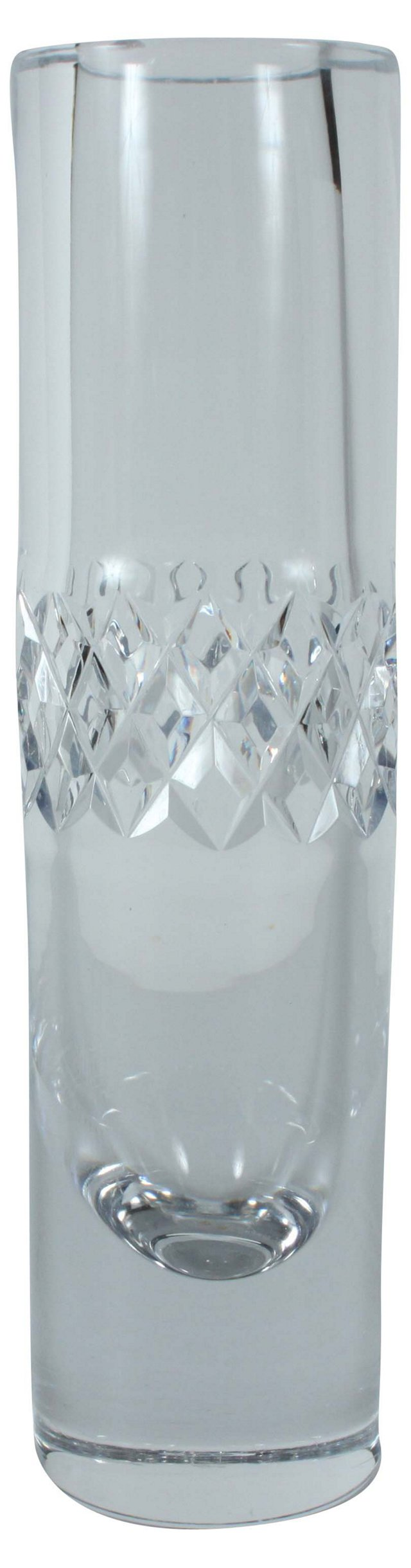Cut-Glass Vase
