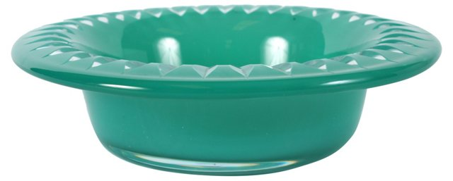 Cerulean Glass Bowl