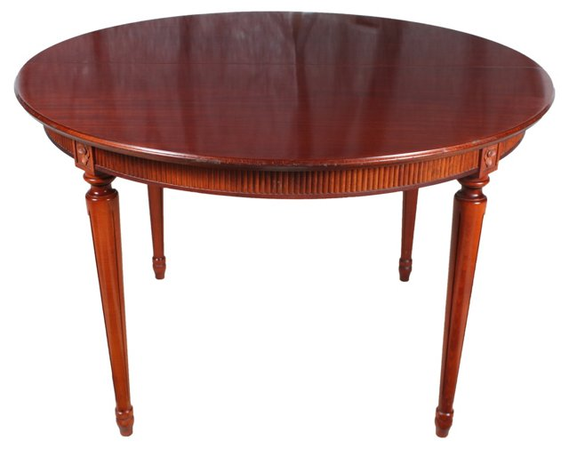 French   Mahogany Table