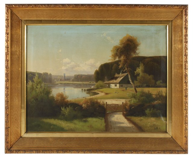 Cottage on the Lake, 1893