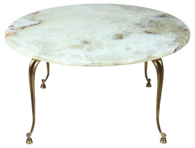 Round Onyx Table