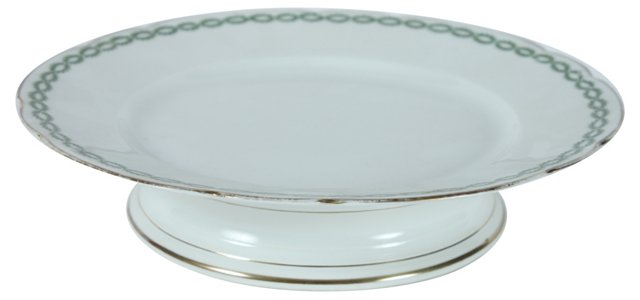 1920s  French Limoges Cake Stand