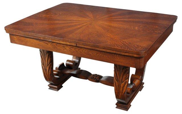 Italian Draw-Leaf  Table