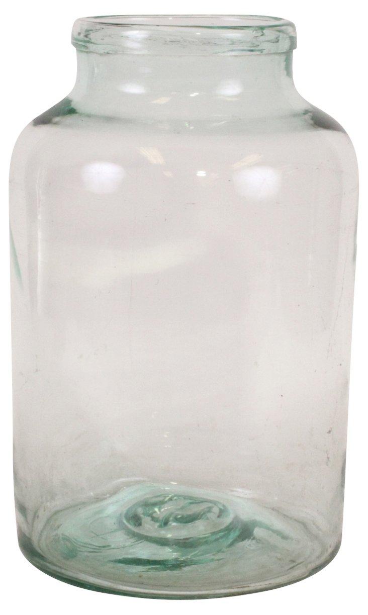 19th-C. French  Preserves Jar